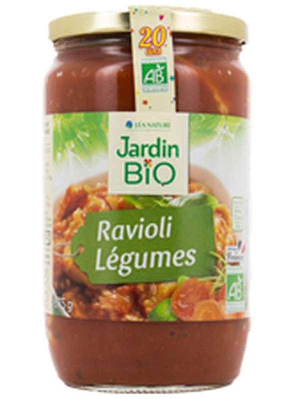 Ravioli aux légumes BIO, Jardin Bio (675 g)