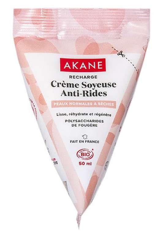 Recharge de crème soyeuse anti-rides BIO, Akane (50 ml)