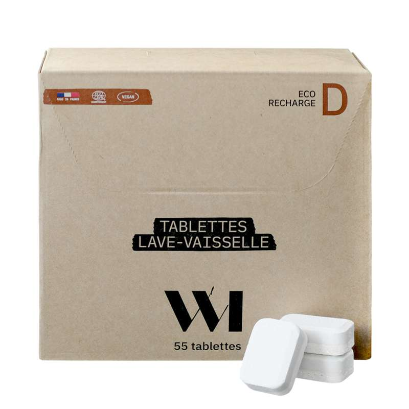 Recharge Pastilles Lave Vaisselle BIO, What Matters (x 55 pastilles)