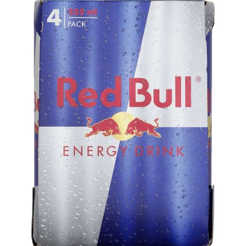 Pack de Red Bull (4 x 25 cl)