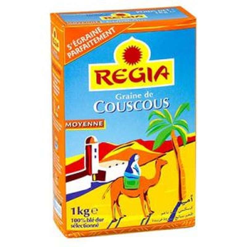 Graine de couscous Moyen, Regia (1 kg)