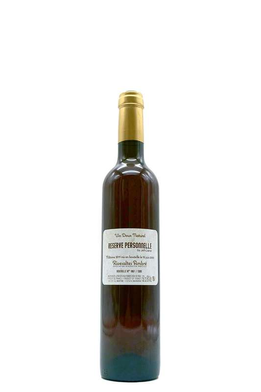 Réserve Personnelle - 2011 - AOP Vin Doux Naturel (50 cl)