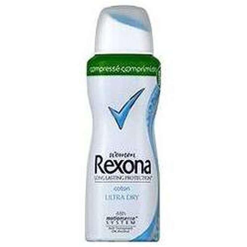Déodorant compressé coton ultra dry, Rexona (100 ml)