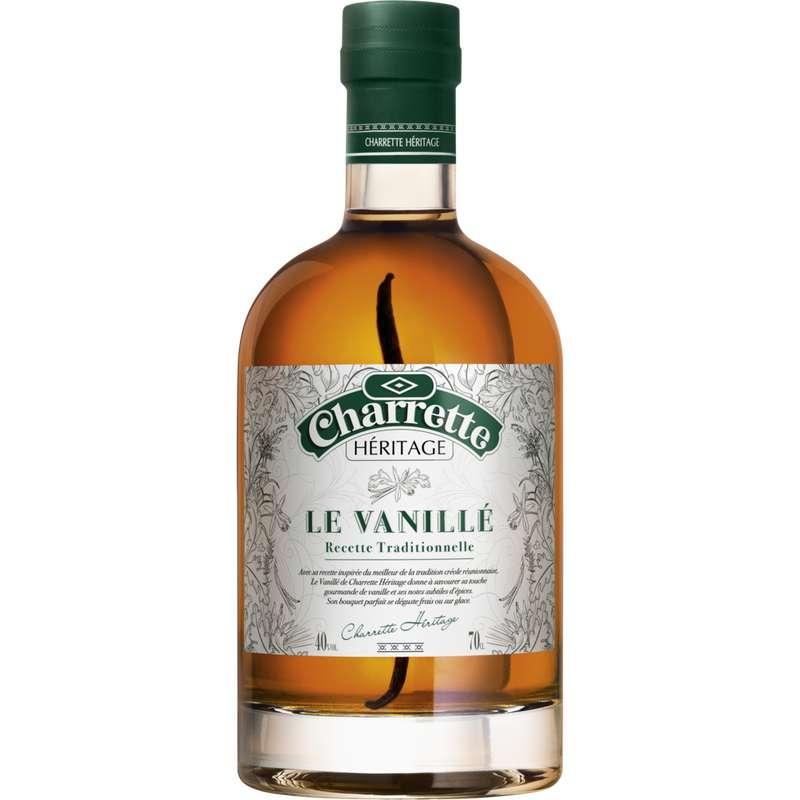 Rhum arrangé Héritage le vanillé 40°, Charrette (70 cl)