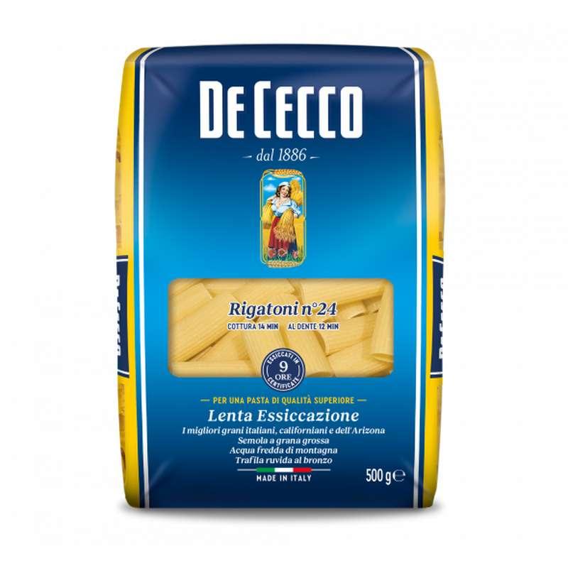 Rigatoni, De Cecco n°24 (500 g)