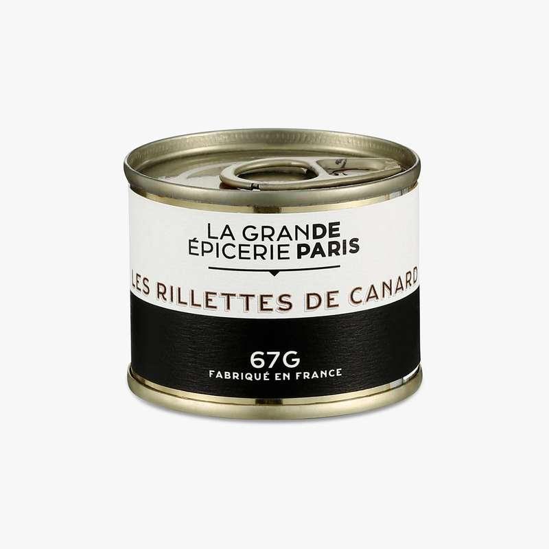 Rillettes de canard, La Grande Epicerie de Paris (67 g)