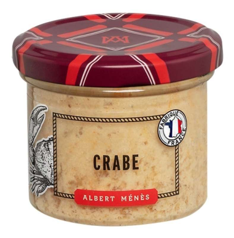 Rillettes de crabe, Albert Ménès (90 g)