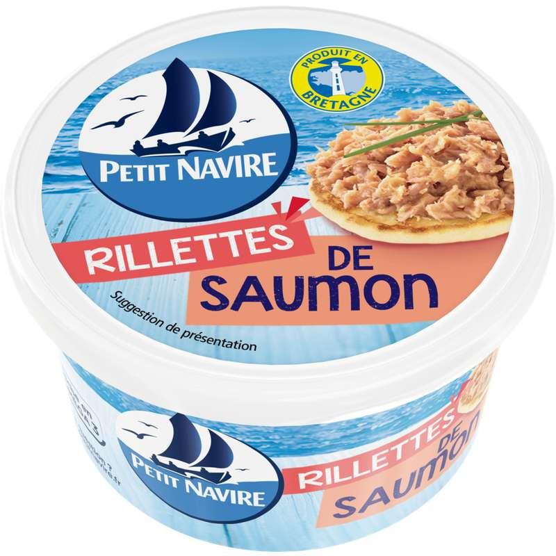 Rillettes de saumon, Petit Navire (125 g)