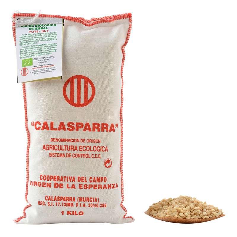 Riz AOP semi-complet BIO, Calasparra (1 Kg)