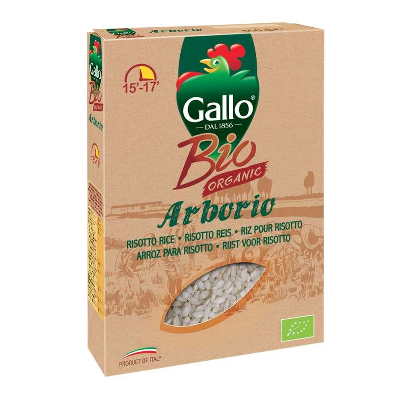 Riz arborio BIO, Riso Gallo (500 g)