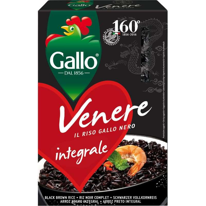 Riz noir Vénéré, Riso Gallo (500 g)