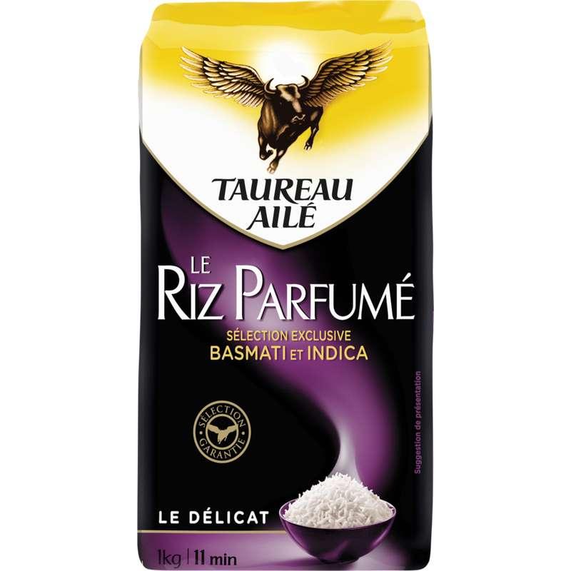 Riz parfumé basmati et indica, Taureau Ailé (1 kg)