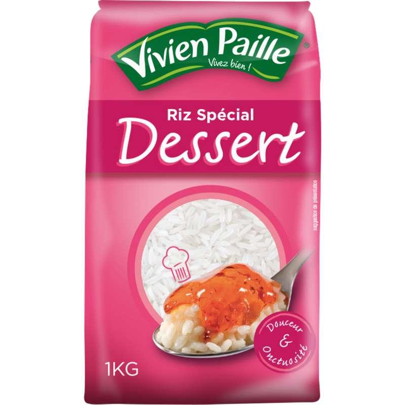 Riz rond blanc spécial dessert, Vivien Paille (1 kg)