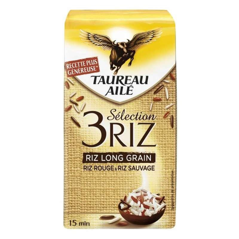 Riz sélection 3 riz, Taureau Ailé (500 g)