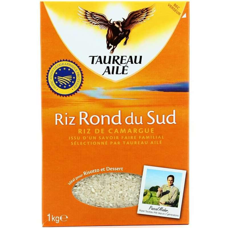 Riz rond du Sud, Taureau Ailé (1 kg)