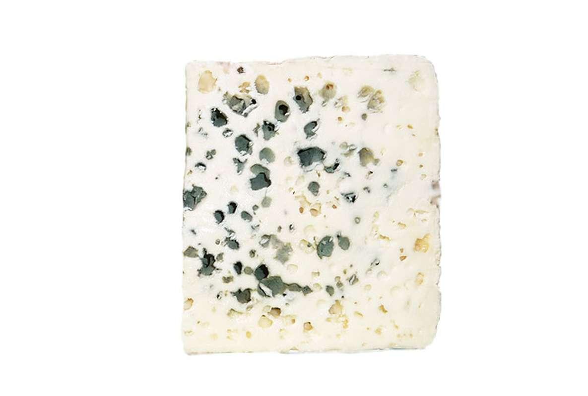 Roquefort AOP BIO au lait cru et entier de brebis, 32 % MG/PF (100 g)
