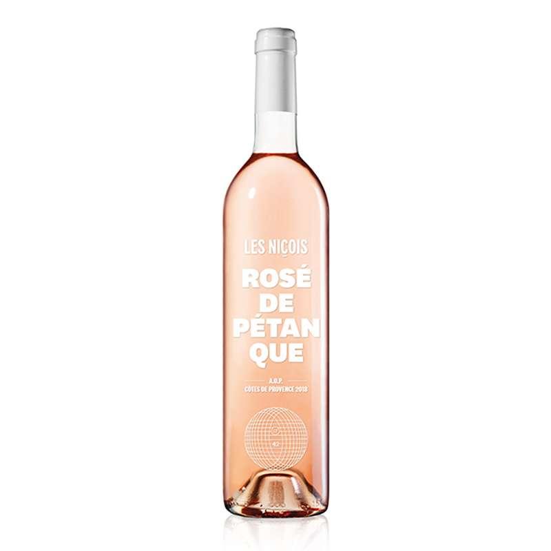 Rosé de pétanque, AOP Côtes de Provence, Les Niçois (75 cl)