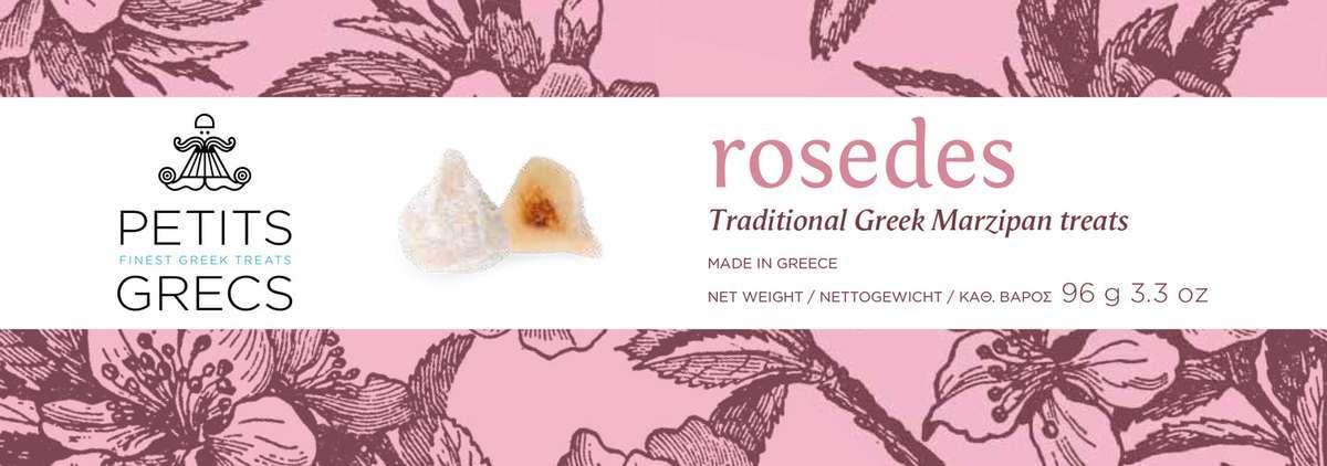 Rosedes à la fleur d'oranger, Petits Grecs (96 g)