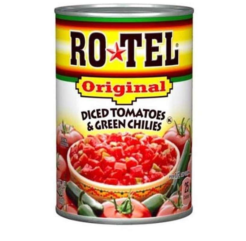 Tomates concassées au piment vert, Rotel (283 g)