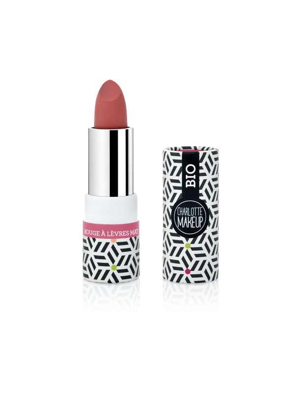 Rouge à lèvres Rouge Rosé BIO, Charlotte Bio (3,5 gr)