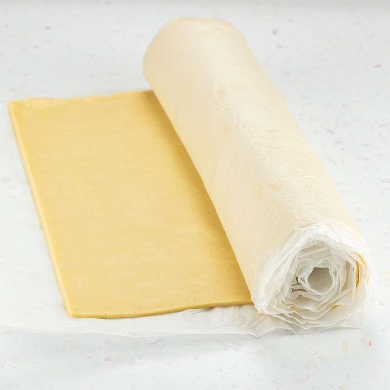 Rouleau de pâte brisée artisanale «François» au beurre extra fin AOP Charentes-Poitou de la laiterie d'Echiré (3 kg)