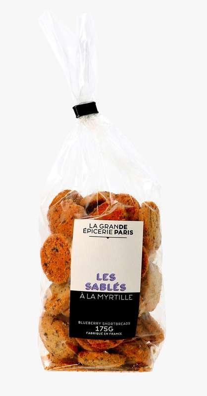 Sablés à la myrtille, La Grande Epicerie de Paris (175 g)