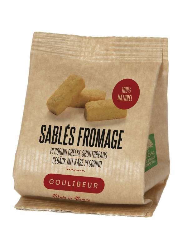 Sablés salés au fromage de brebis pecorino, Goulibeur (100 g)