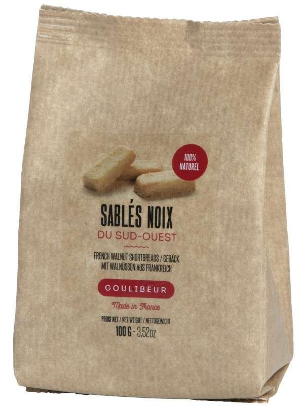 Sablés au noix du sud-ouest, Goulibeur (100 g)