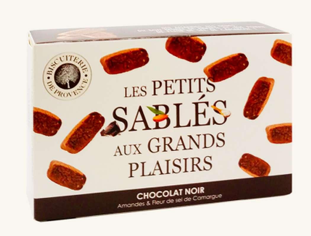 Sablés chocolat noir BIO,  Biscuiterie de Provence (120 g)