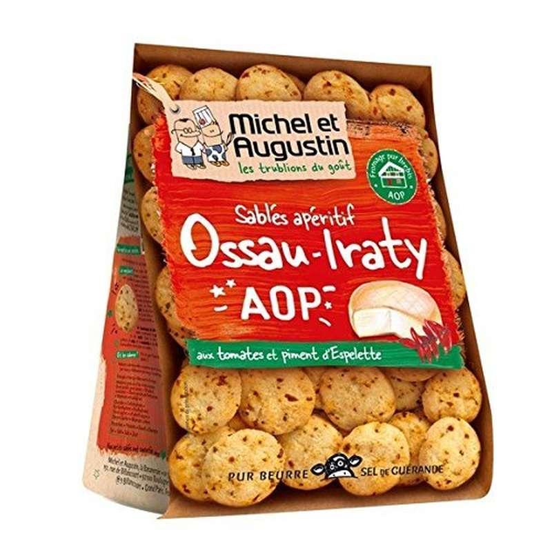 Sablés Ossau Iraty AOP tomate et piment d'Espelette, Michel et Augustin (100 g)