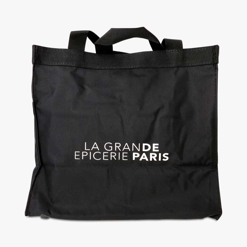 Sac shopping noir nylon La Grande Epicerie de Paris (x 1)