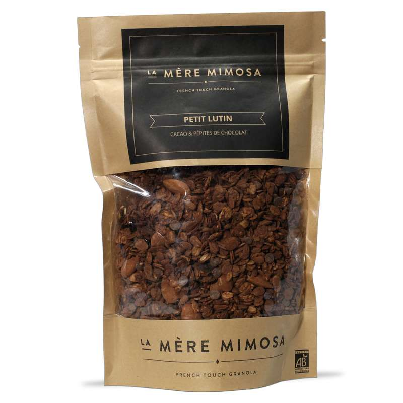 "Granola artisanal ""Petit Lutin"", La Mère Mimosa (350 g)"