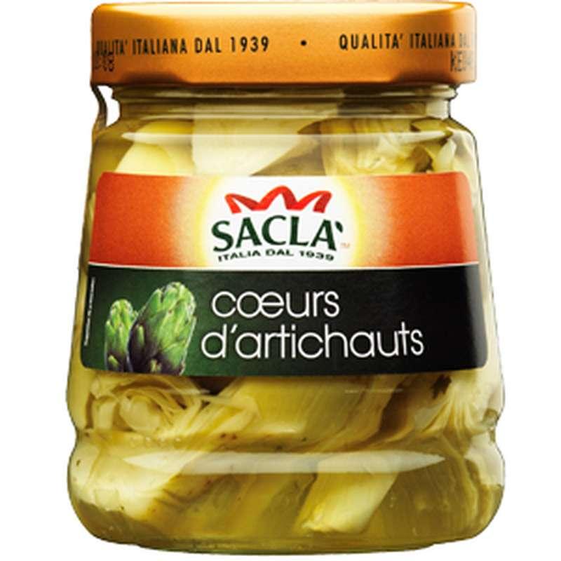 Coeurs d'artichauts antipasto à l'huile, Sacla (285 g)