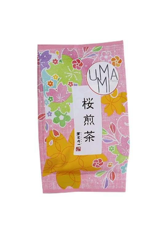 Thé vert aux fleurs de cerisier - Sakura Sencha (40 g)