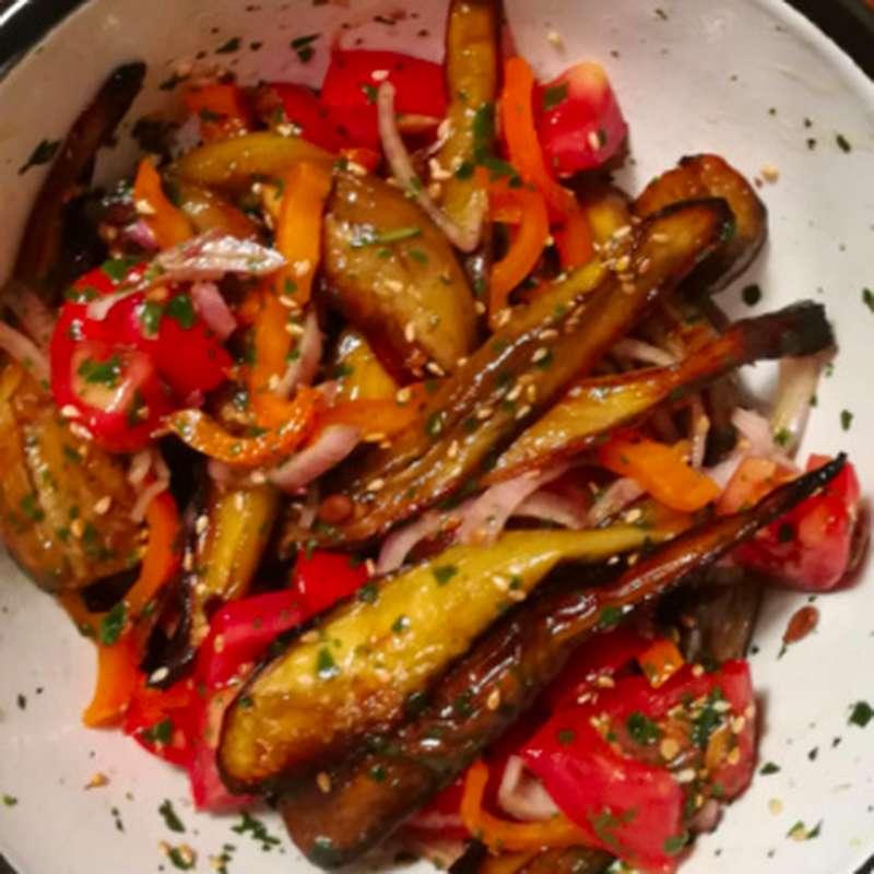 Salade d'aubergines à la libanaise (200 g)