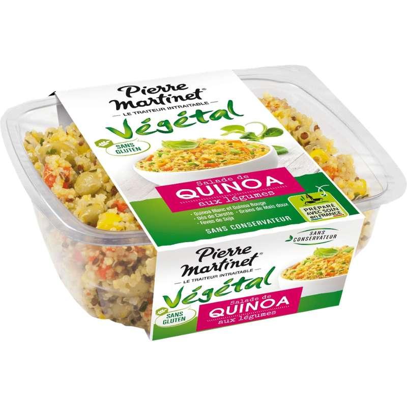 Salade de Quinoa aux légumes sans gluten, Pierre Martinet (250 g)