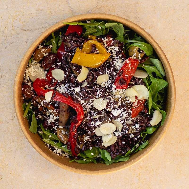 Salade de riz noir vénéré, légumes du soleil (260 g)