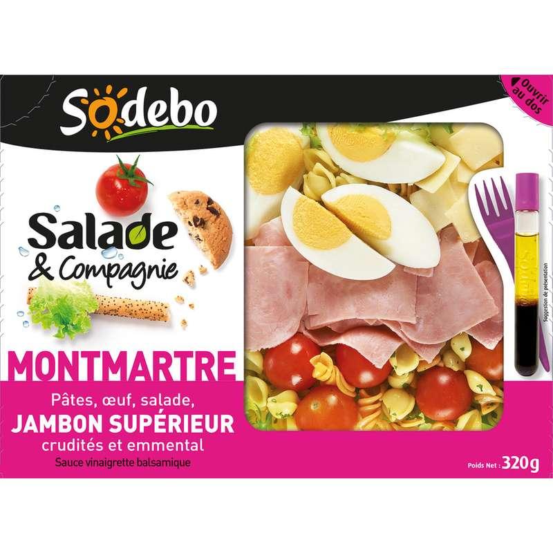 "Salade & Compagnie ""Montmartre"", Sodebo (320 g)"