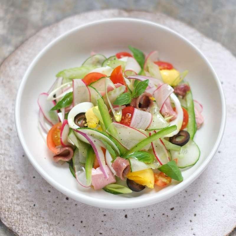 Petite salade niçoise pour Pan Bagnat (250 g)