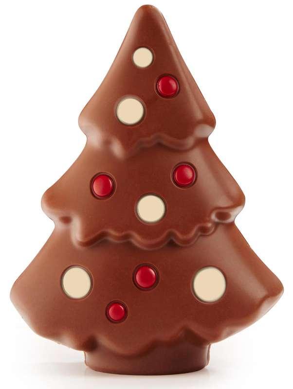Sapin de Noël en chocolat, Ickx (110 g)
