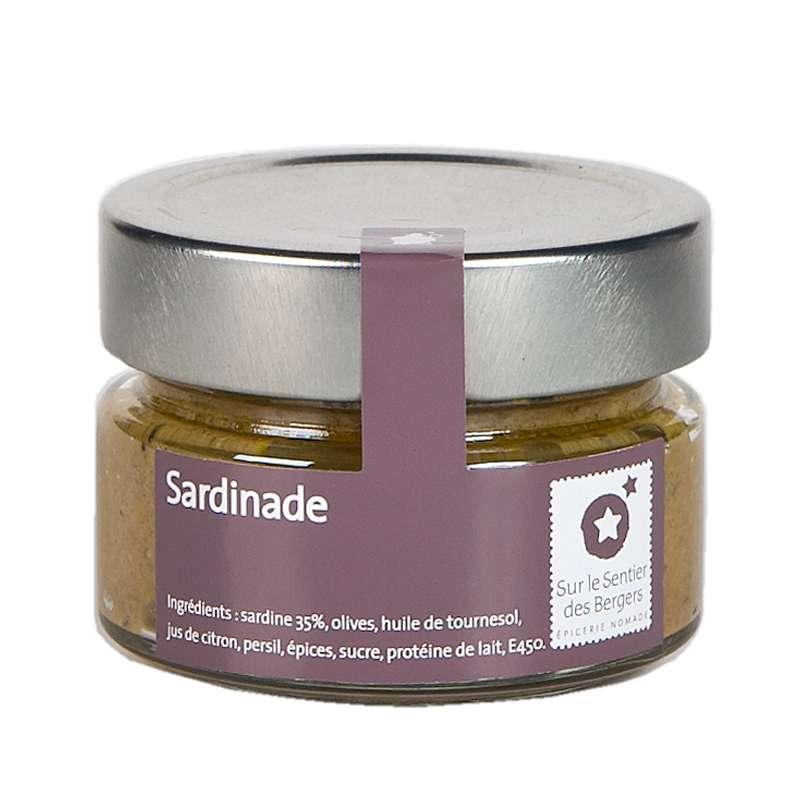 Sardinade, Sur le sentier des bergers (90 g)