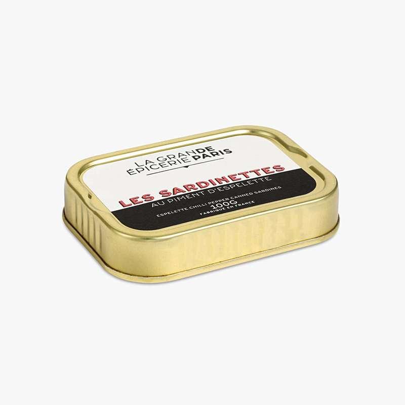 Sardinettes au piment d'Espelette, La Grande Epicerie de Paris (100 g)