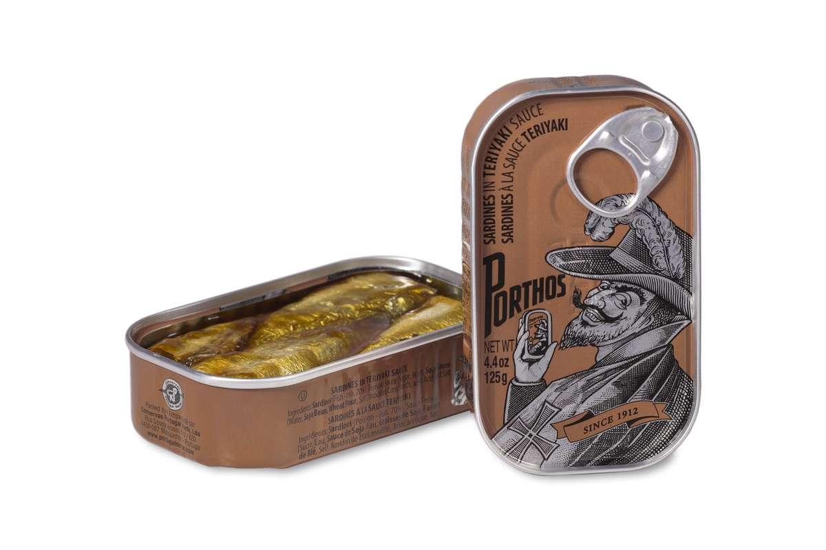 Sardines à la sauce Teriyaki, Porthos (81 g)