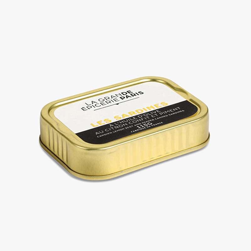 Sardines au citron confit et au piment, La Grande Epicerie de Paris (115 g)