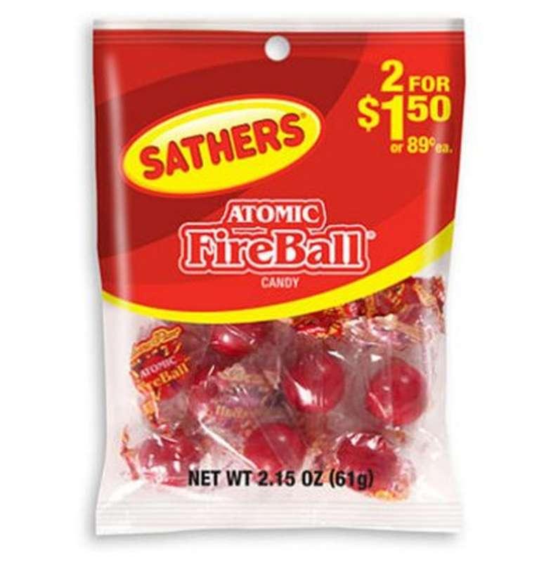 Bonbons acidulés, Atomic Fireball (61 g)