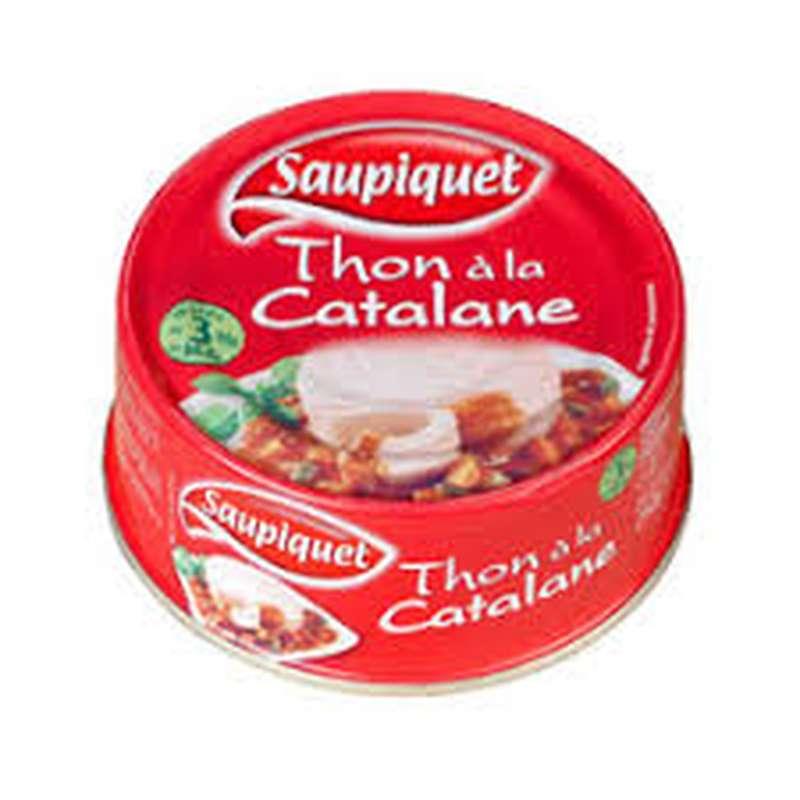 Thon à la Catalane, Saupiquet (250 g)