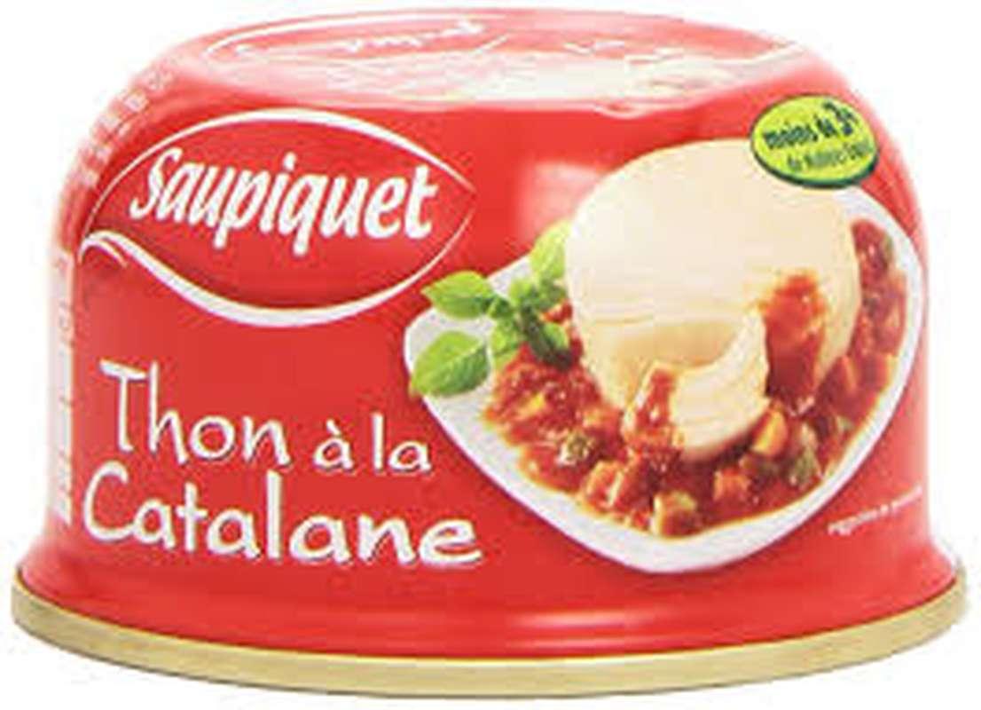 Thon à la Catalane LOT DE 2, Saupiquet (2 x 135 g)