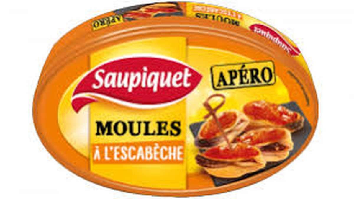 Moules à L'escabèche, Saupiquet (110 g)