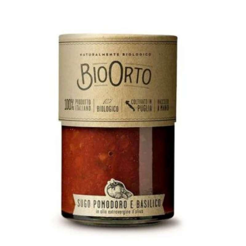 Sauce au basilic BIO, Bio Orto (185 g)