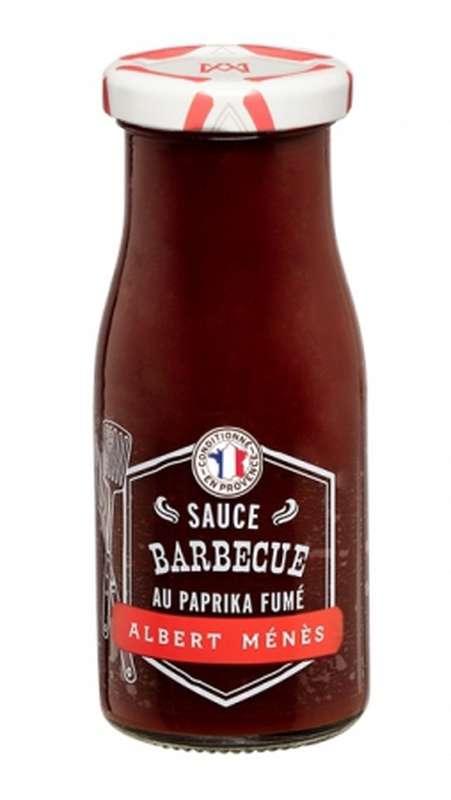 Sauce barbecue gastronomique au paprika fumé au bois de chêne, Albert Ménès (170 g)